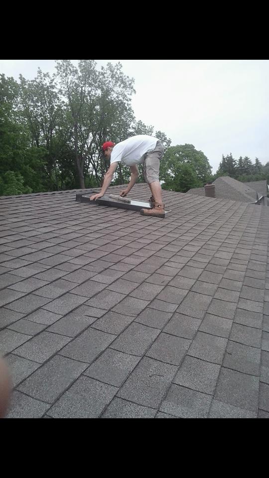 window cleaning skylight